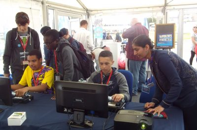 Flight sims at FIA 16