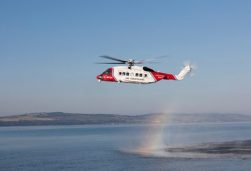 UK Search and Rescue Helicopter