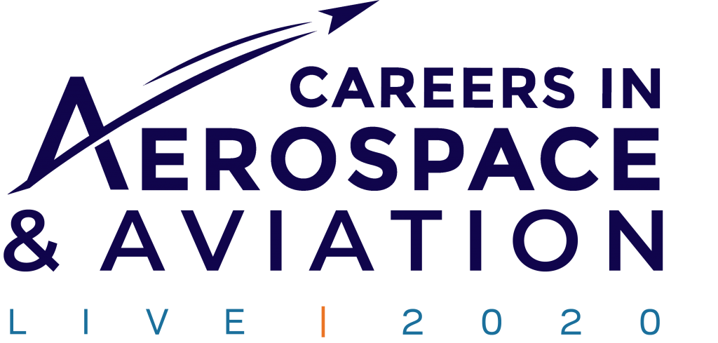Careers in Aerospace & Aviation LIVE 2020 Logo